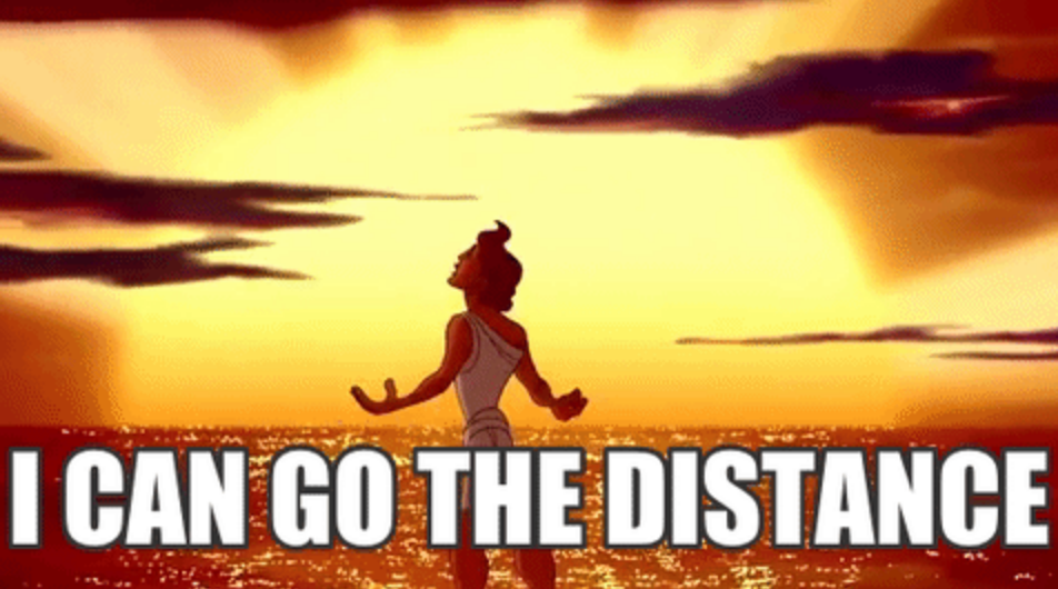 Disney running gif Hercules