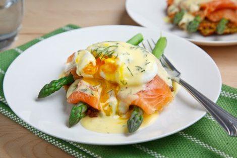 Egg, Salmon & Asparagus