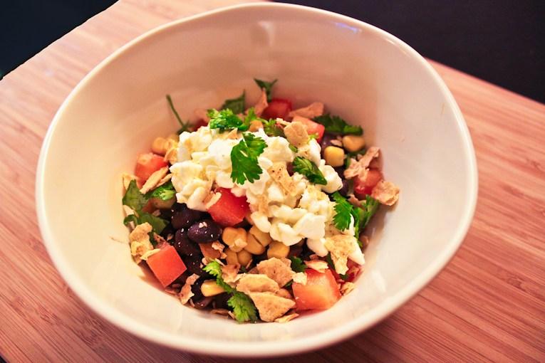 healthy food blogger burrito